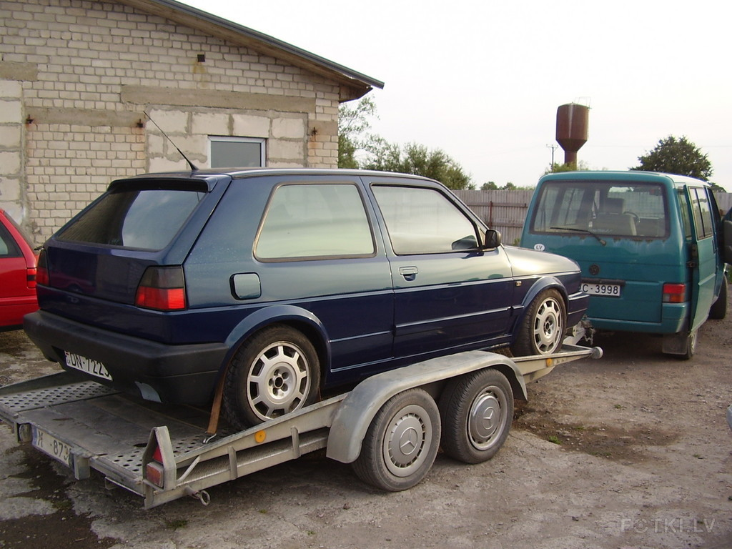 Born in 1987 as 1.8 16V GTI. Then for some time there was a VR6 engine, who  didnt run.