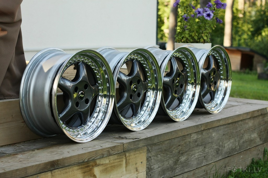 Sport Edition A9 Wheels >> Fourtitude.com - FS: EXTREMELY rare 3 piece ABT Sportline A9 17x8,5 ET22